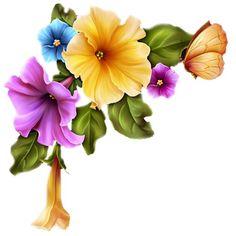 GIFS HERMOSOS: separadores encontradas en la web Printable Lined Paper, Victorian Flowers, Frame Crafts, Botanical Flowers, Decoupage Paper, Scrapbook Embellishments, Arte Floral, Mason Jar Crafts, Flower Pictures