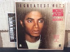 Michael Jackson 18 Greatest Hits Inc Jackson 5 STAR2232 Motown 80's Soul LP R&B Music:Records:Albums/ LPs:R&B/ Soul:Motown