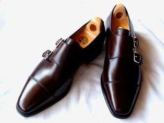 John Lobb dark brown double monk straps. Modern Mens Fashion, Mens Fashion  Shoes, 3f454f939d5