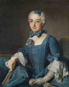Portrait of a lady by Donat Nonnotte, 18th century