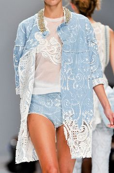 whatchathinkaboutthat:    Ermanno Scervino Spring 2012