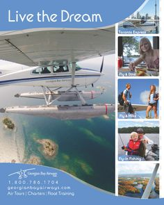 """Georgian Bay Airways Flying Adventures. Your kids will surely say, """"wow, that was cool!"""""""