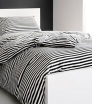 Annika Rimala for Marimekko, Tasaraita New Home Designs, Marimekko, Black Decor, Bedroom Styles, Dream Bedroom, Home Decor Items, My Dream Home, Home And Living, Modern Design