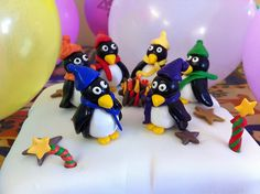 Fimo Christmas Penguin Tutorial