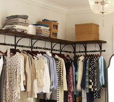 New York Shelf & Clothes Rack | Pottery Barn