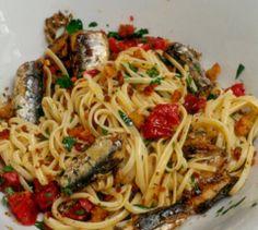 Linguine e pesce fresco :)