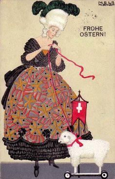 Artist Mela Koehler  wiener-werkstaett...