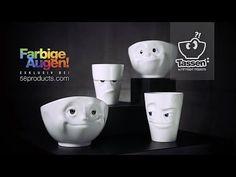 TASSEN Schau mir in die Augen, Kleines - Made in Germany - YouTube Youtube, Diy And Crafts, Apple, Videos, Tableware, How To Make, Petra, Animation, Humor