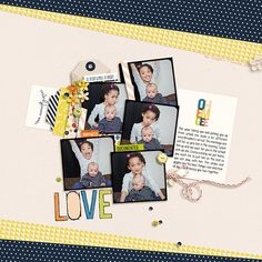 love! | Layout by Tronesia  digital products: At the Moment | Kit + Journal Cards - One Little Bird Viewfinder Frames No. 3 - Paislee Press Pronuncial Hand Doodled Alpha - Just Jaimee