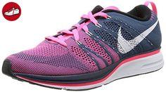 Nike Nike Flyknit Trainer+, Herren Sneaker, Mehrfarbig (Squadron Blue/White-Pink Flash), EU 44.5 (*Partner-Link)