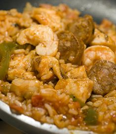 Gluten-Free Andouille and Shrimp Jambalaya