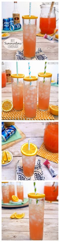 Pink Summer Shandy, or Summertime Lemonade. My FAVORITE drink to beat the heat. MMM.