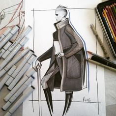 Design & Illustration by Paul Keng | Copic/Markers