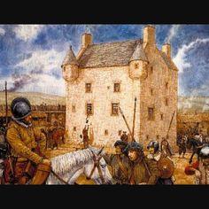 hannay clan's sorbie castle in southern scotland.