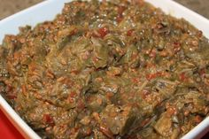 This is a classic way of cooking okra that allows you to use okra (la gombo fevi)  as a side dish or make the ever popular shrimp and okra gumbo.