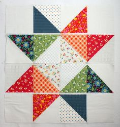 Easy DIY Star Baby Quilt Tutorials - Diary of a Quilter - a quilt blog Mehr