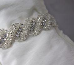 bridal gown belt