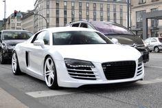Easygoingfuture Maserati, Bugatti, Ferrari, Lamborghini, Auto Jeep, Cars Auto, Audi R8 White, White Rims, White White