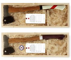 handmade axes by best made co.