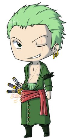 Roronoa Zoro by Sakura-Rose12.deviantart.com on @deviantART