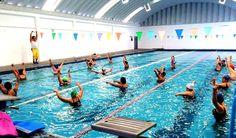 Aquaaerobics en las Albercas Municipales en Aguascalientes ~ Ags Sports