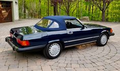 Mercedes 500, Chula, Oil Change, Classic Cars Online, Automatic Transmission, Grey Leather, Tool Kit, Midnight Blue, Convertible