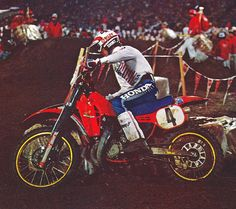 1983 Seattle Supercross Johnny O'Mara by Tony Blazier, via Flickr