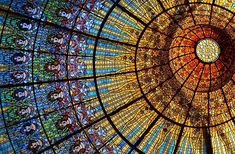 Palau de la Música Catalana, Barcelona, España.