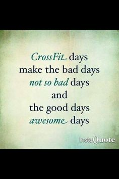 CrossFit days--have to say to Nikki Dane and Ashley Fiatoa. Crossfit isn't that bad LOL, you two ladies Crossfit Quotes, Crossfit Motivation, Fitness Quotes, Health Motivation, Crossfit Humor, Crossfit Chicks, Crossfit Gear, Lifting Motivation, Exercise Quotes