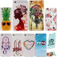 Case For Huawei P8 Lite Case Silicon Cartoon Animal Painting Soft TPU IMD Back Cover P8lite Clear Transparent Case Capas Fundas #>=#>=#>=#>=#> Click on the pin to check out discount price, color, size, shipping, etc. Save and like it!