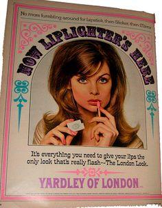 Yardley of London make-up ad