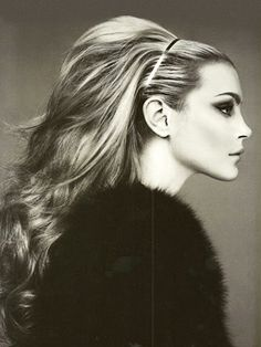 1960's hair,