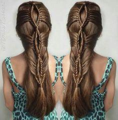 Lacy fishtail