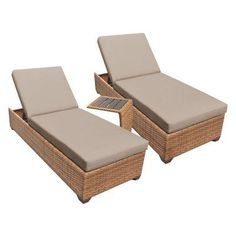 Hanover Strathmere All Weather Wicker Patio Chaise Lounge With Country Cork  Cushion | Products | Pinterest | Country, Cushions And Lounges