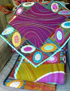 Image result for big stitch quilting