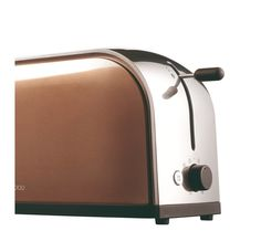 KENWOOD Metallics TTM127 4-Slice Toaster - Antique Bronze