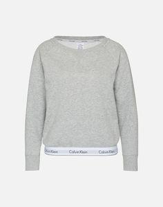 Calvin Klein Underwear Sweatshirt Damen, Graumeliert, Größe L Calvin Klein Underwear, Models, Black Friday, Sweatshirts, Sweaters, Fashion, Templates, Moda, Fashion Styles