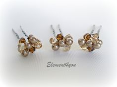 champgan chocolate weddings | Hair pin color Select an option Brown pins/gold wire Silver pins ...
