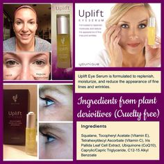 Uplift by younique. See the difference.