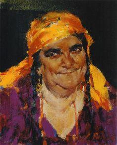 Гадалка (1934-1955). Фешин, Николай