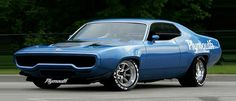 1971 Plymouth Roadrunner.