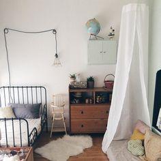 Une chambre d'enfant à l'esprit vintage / Vintage decoration for a kids room / La mariée aux pieds nus blog @lmapn