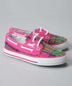 Pink boat shoes!  Yaay, Sperry!