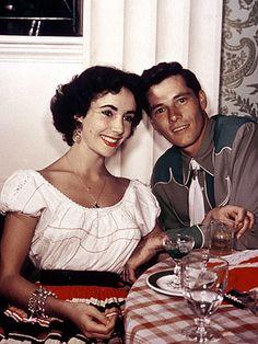 unpublished wedding photo of elizabeth taylor and nicky hilton | Top 10 Short-Lived Celebrity Marriages