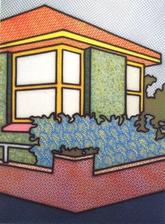 Howard Arkley Indoors-Outdoors 1994