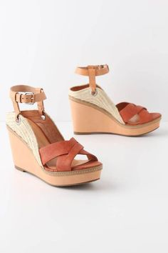 luellaloves:  Shutter Ridge Wedges via Anthropologie