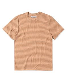 Outerknown Grown Color Tee - S Tan Mens Clothing Brands, Tee Shirts, Tees, Body Size, Piece Of Clothing, Fitness Models, Size Chart, Organic Cotton, Pure Products