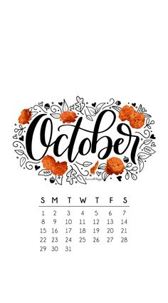 October2017Calendar-SundayStart-phone.jpg 740×1,334 pixels