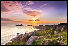 Seeing the Light: Corbiere Lighthouse, Jersey. Channel Islands