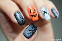 Happy #Halloween girls!  Agoraphobix www.agoraphobix.com #nails